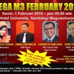 MEGA M3 - FEBRUARI 2016