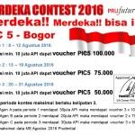 MERDEKA CONTEST 2016